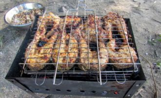 Рецепты щуки на гриле, костре и мангале