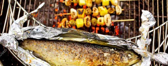 Лучшие рецепты приготовления форели на гриле, мангале и костре