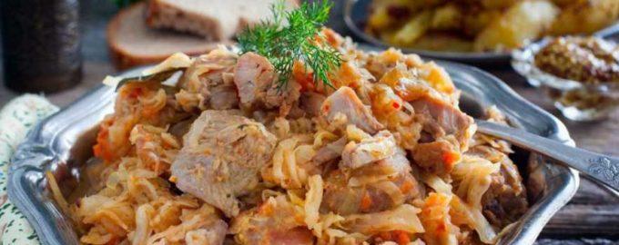 С чем можно приготовить тушеную капусту с мясом в казане – интересные рецепты