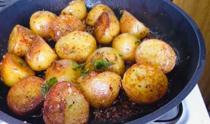 Интересная подборка рецептов картошки в казане
