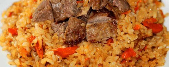 ТОП-8 рецептов плова из говядины в казане