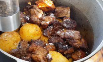 Интересные рецепты картошки с мясом в казане